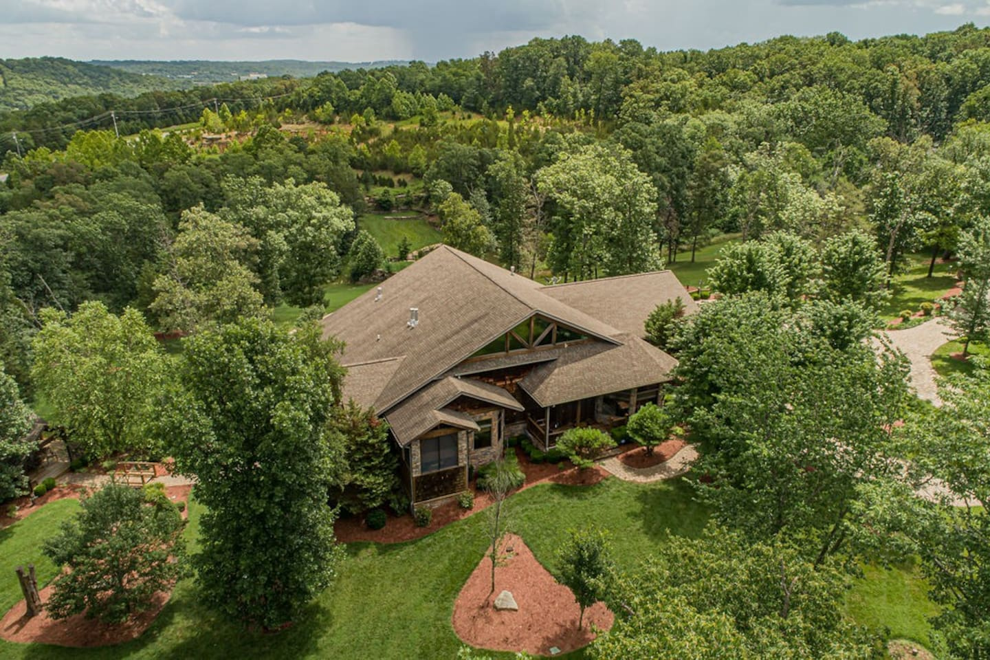 Your private resort nestled in the Ozark Mountains.