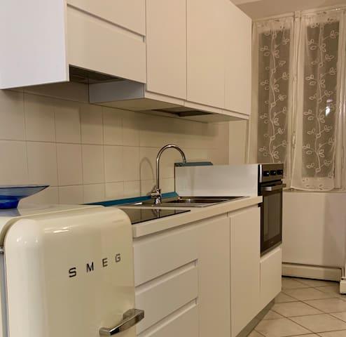 Ombelico di Parma, intero appartamento.