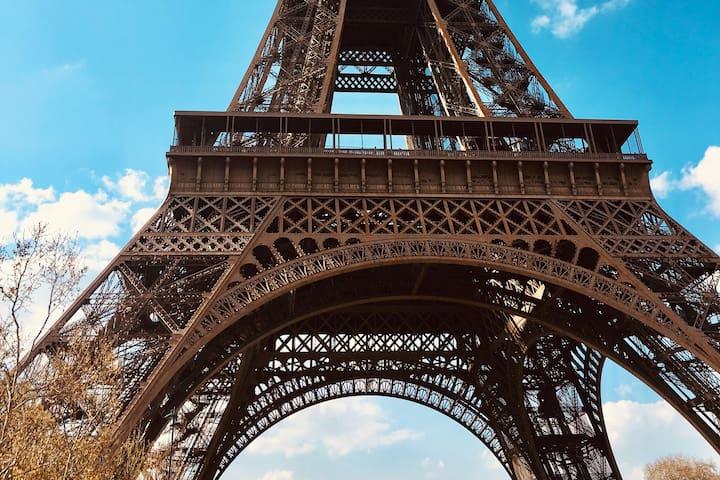 Appartement cosy proche Tour Eiffel