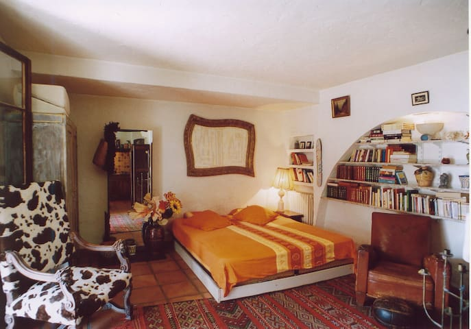 LOVELY STUDIO IN A PROVENCAL VILLA - Gattières - Appartement