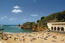 Mythique plage du Port Vieux