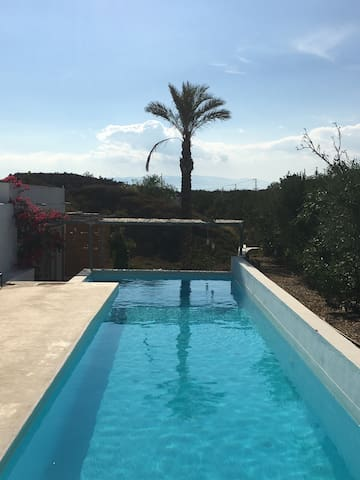 Twin room in house  with fab pool - Tabernas  - Dom