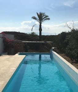 Two rooms in house with fab pool - Tabernas