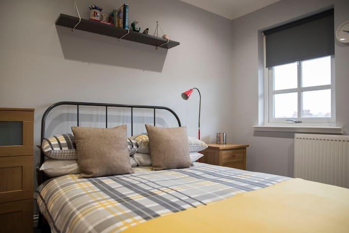 Double Room, Bathroom, Apartment, Near Edinburgh