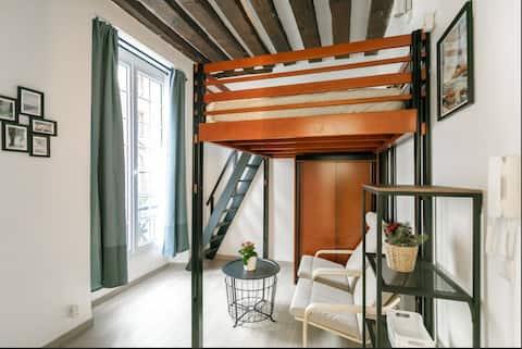 Cozy Studio Notre-Dame/Saint-Germain/Saint Michel