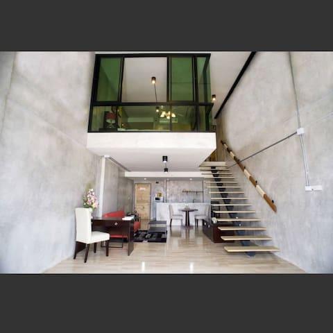 复式度假公寓 - Tambon Pa Daet - Apartamento