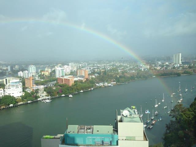 Brisbane CBD river Penthouse 顶层双层公寓 - Brisbane City - Lejlighed