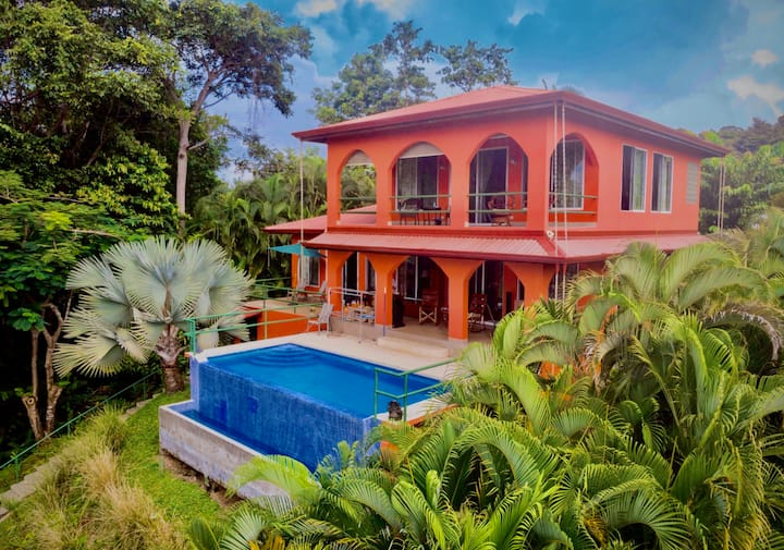 Jungle home bordering National Park HALF OFF!