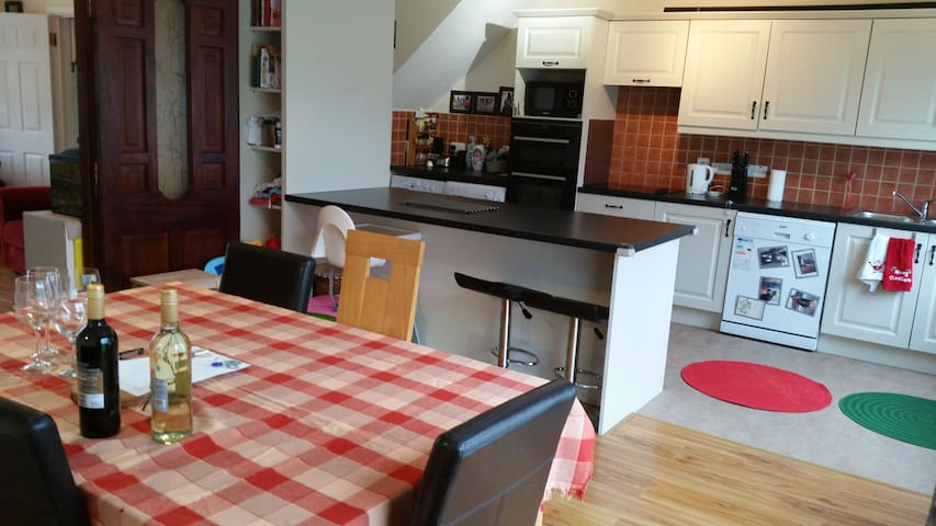 Warm house in quiet estate. no smoking - Galway - House