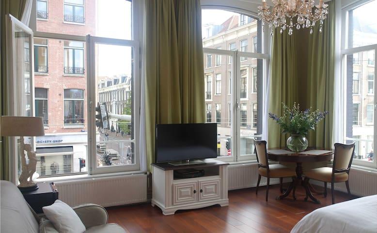 Thick double glazed large opening windows