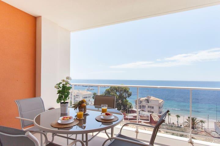 Apartamento frente al mediterraneo