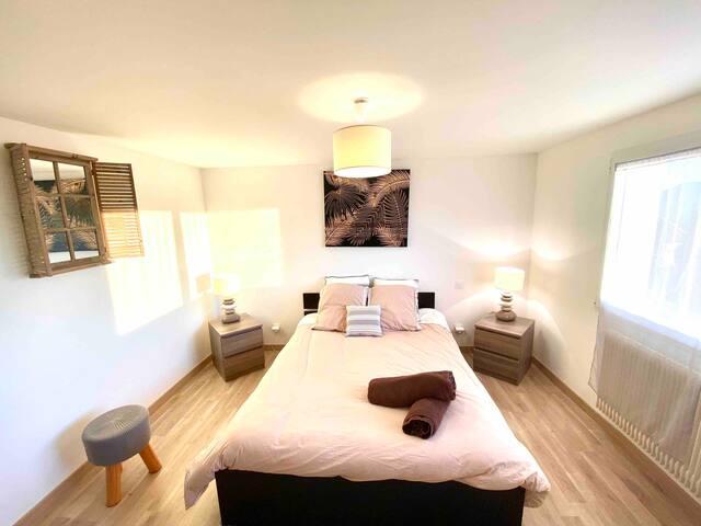 Appartement vue exceptionnelle proche Genève.