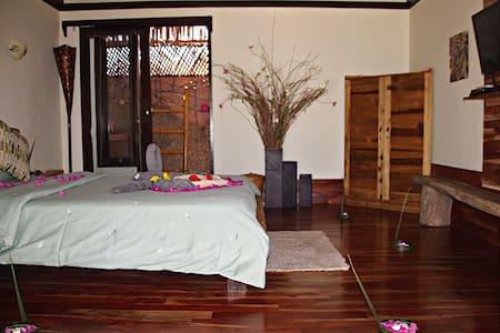 Rose room bedroom