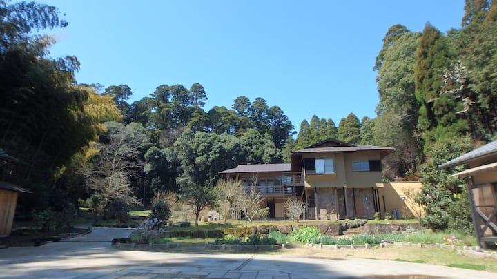 a spacious private house -Moritosora-