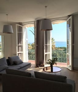 Vue Mer 75m2 ds Ancien Palace Hotel - Cannes