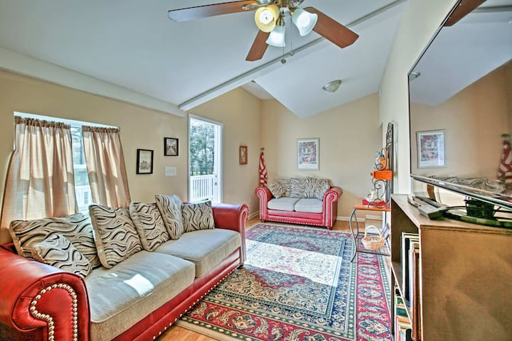 NEW! 3BR Apt on Bayou Dularge w/Boat Launch & Deck