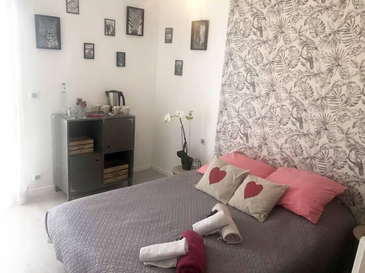 Chambre familiale à Orgnac l'Aven en Sud Ardèche