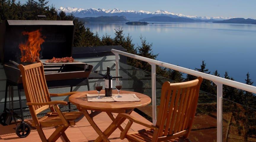 HUGE BALCONY and AMAZING VIEW! AT2 - San Carlos de Bariloche - Apartemen