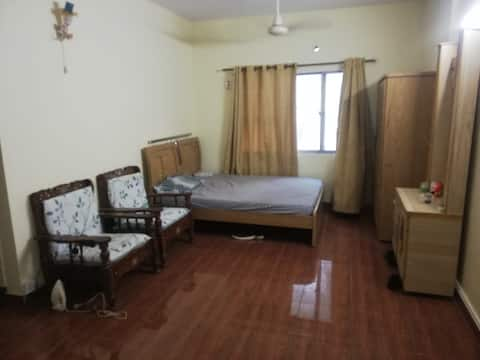 Prvt place with open rooftop and no disturbance.