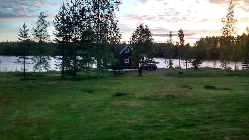Cottage (57sqm) F beach side, central Vuokatti
