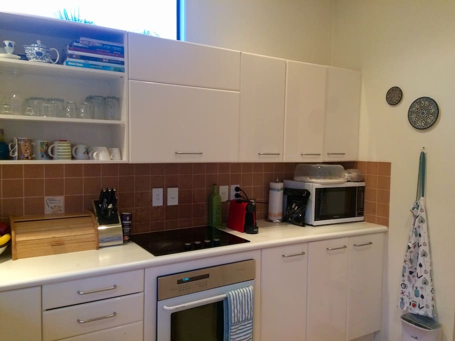 Our spacious & well equipped kitchen