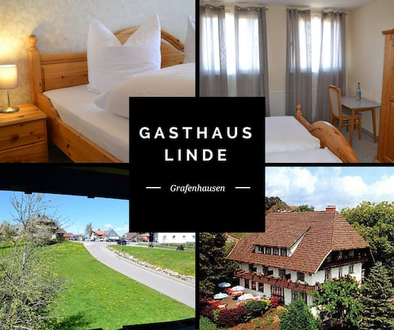 B&B with balcony Black Forest 4/6 - Grafenhausen - Pousada