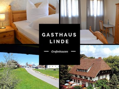 B&B with balcony Black Forest 4/6 - Grafenhausen