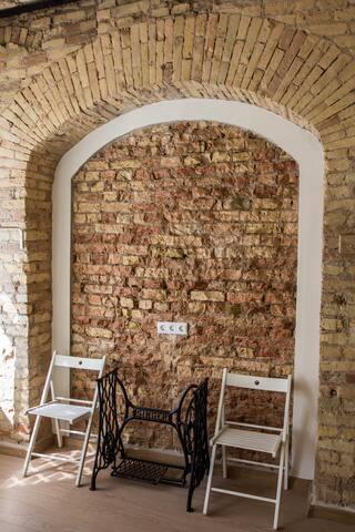 Апартаменты гостиничного типа в старинном здании