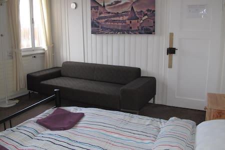Master Bedroom in The Lodge - Churwalden - Chalet