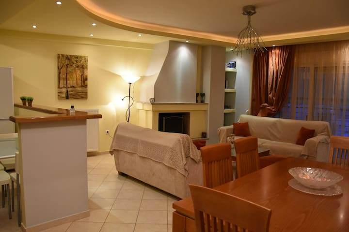 Volos' Luxury Home and View