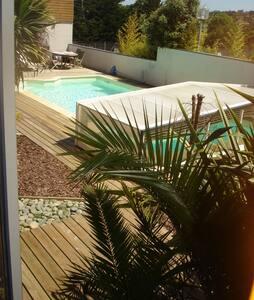 Chambre calme, 180m GR34, plage & centre val-andré - Pléneuf-Val-André