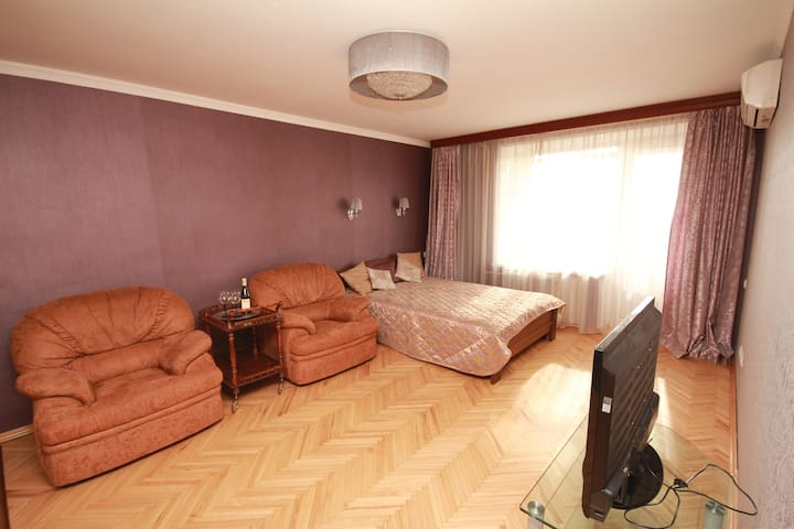 Apartments Donskoy (15 min to FIFA and Red Square)