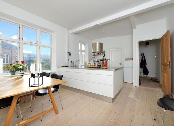 Lovely spacious flat with amazing kitchen area