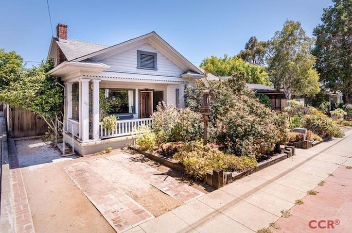 Craftsman Bungalow - Walk to DT SLO and Cal Poly! - San Luis Obispo - Casa
