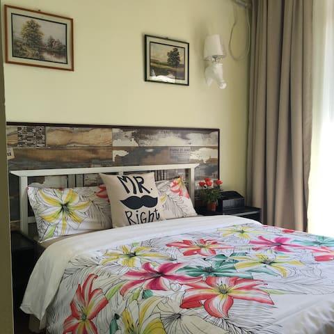 带露台的海景大床房 - 三亚 - Bed & Breakfast