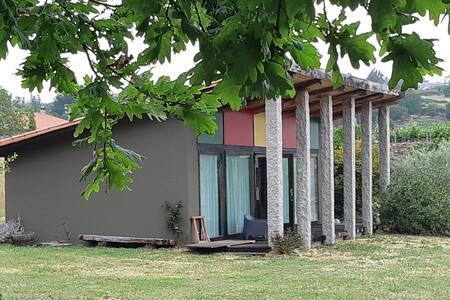 Casa-refugio en la Ribeira Sacra