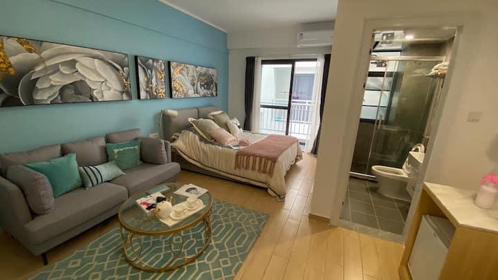 【窝趣公寓】管家直租·高增地铁200米·阳光文化小镇·给你的心灵多一份宁静