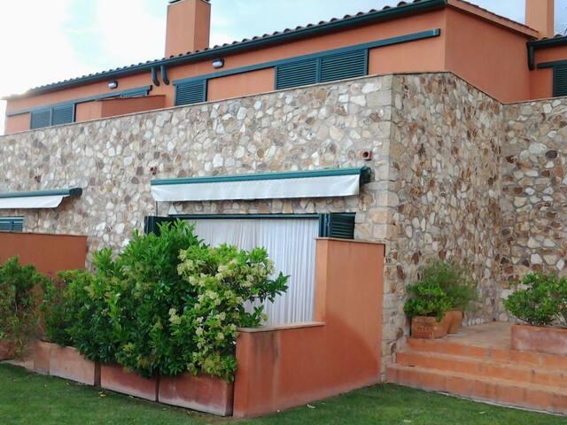 Casa apareada con piscina - Cassavells (Corçà) - Townhouse