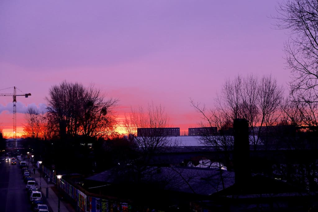 Good Morning Berlin! View To The RAW-