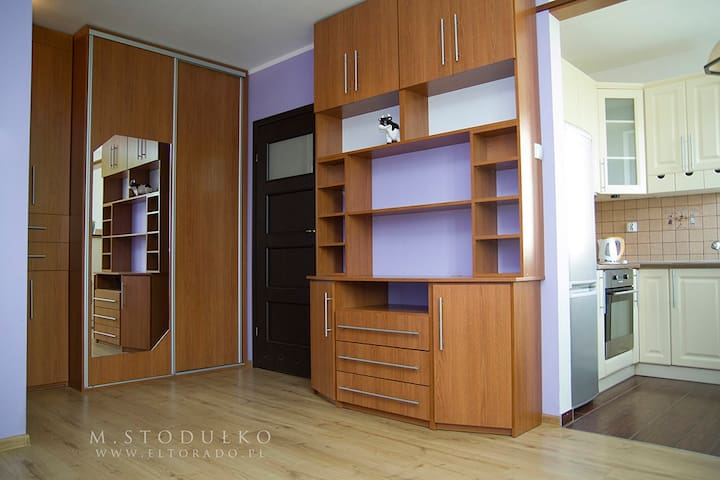 Przytulne mieszkanie, bardzo dobrze skomunikowane - Gdańsk - Apartemen