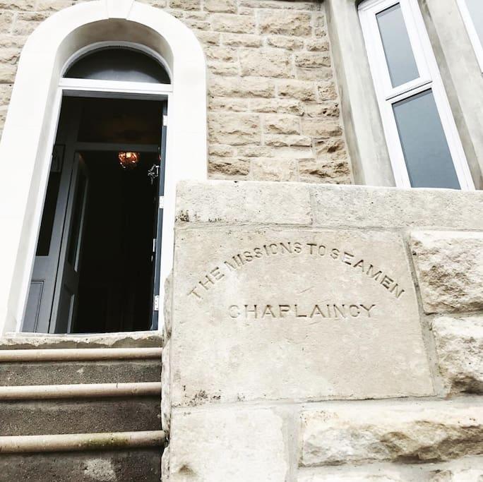 The Gift House, a historic Seaman's Chaplaincy stone house