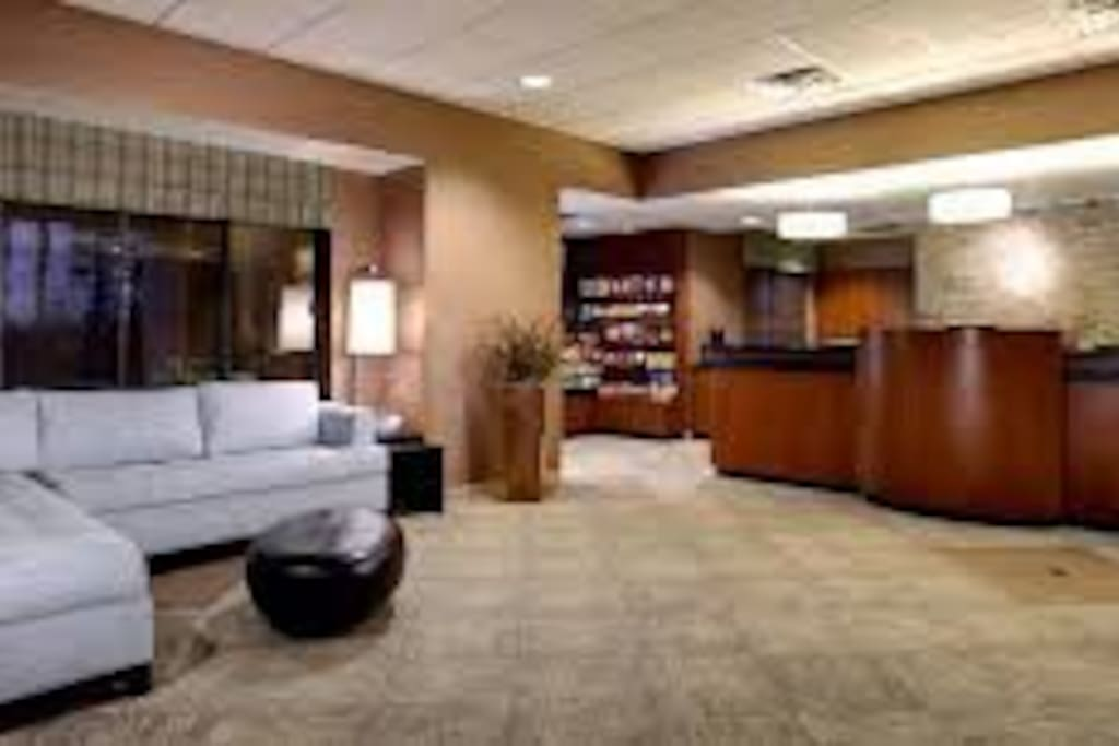 Lobby/Front Desk area