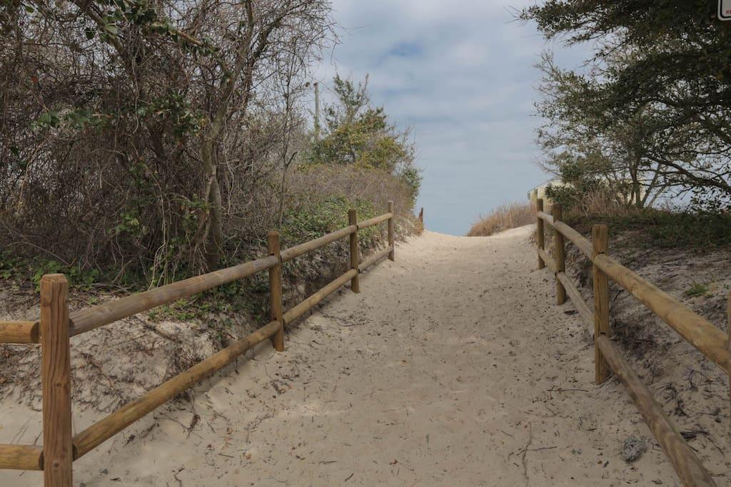 Beach Access by home