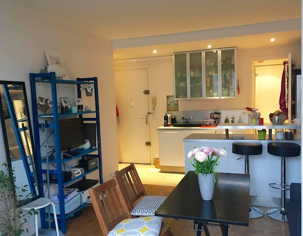 Cosy Flat with balcony :) - Paris - Daire