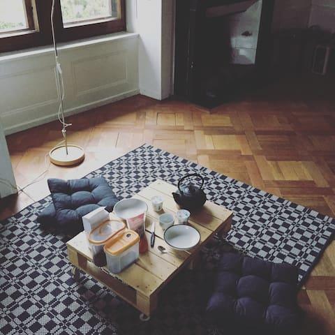 Charmante chambre sous les toits - Peseux - Ev