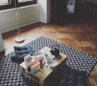 Charmante chambre sous les toits - Peseux - Hus