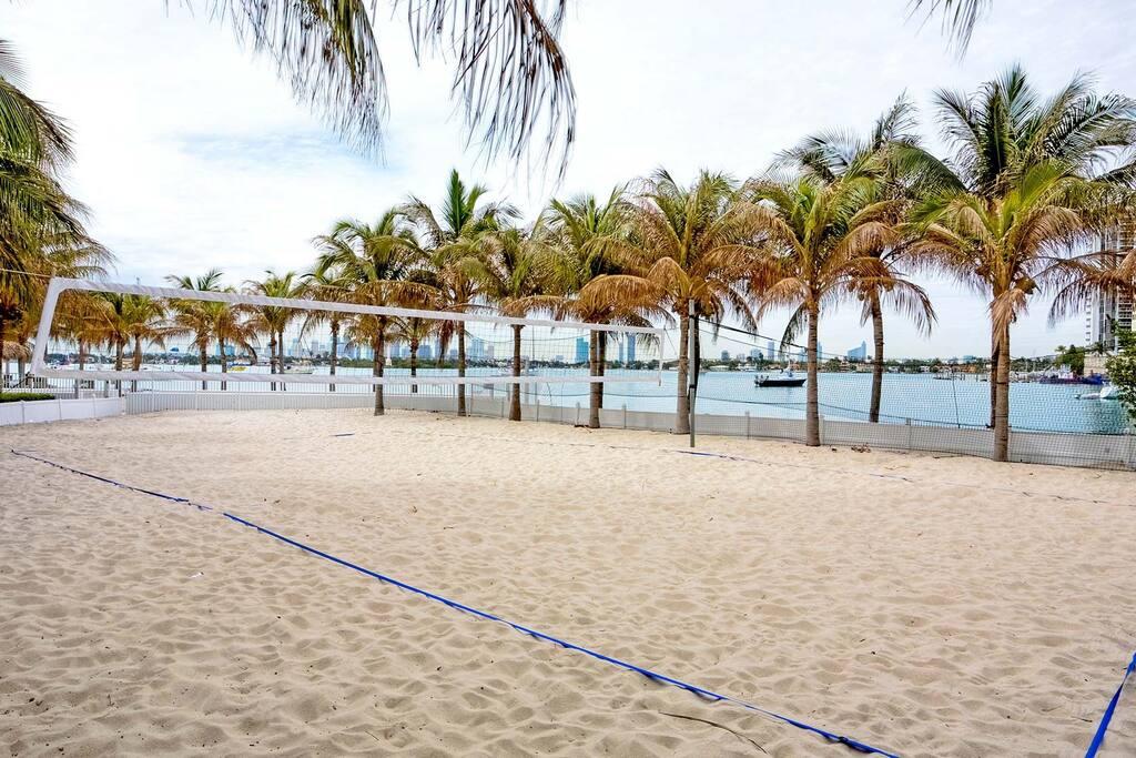 beachvolley court