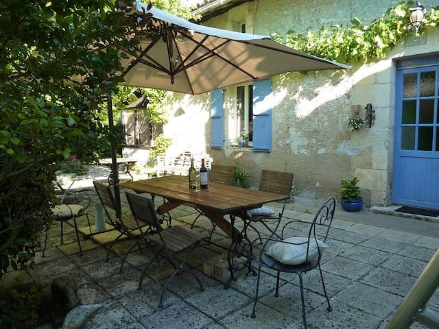 La Fermette de Vignas Suite 1 - Vanxains - 家庭式旅館