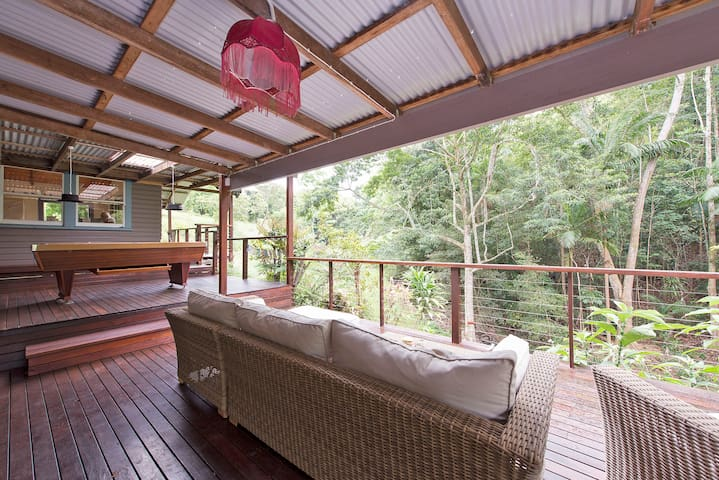 Magical Rainforest Retreat In Luxury - Dorroughby - Huis