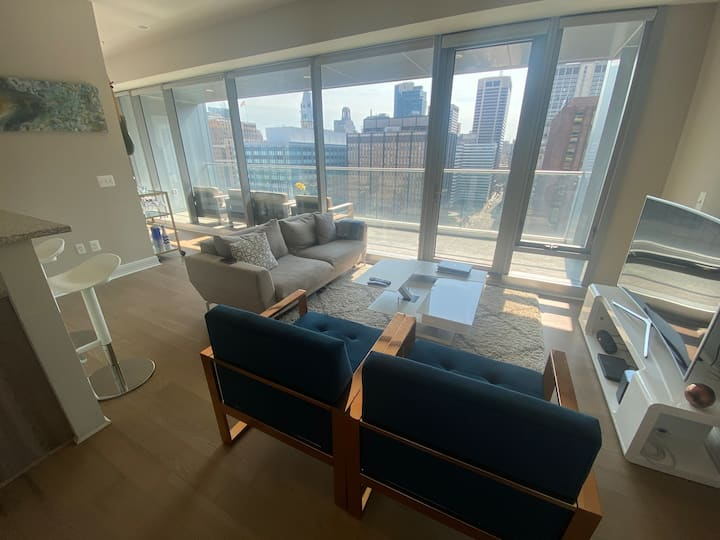 Amazing center city high rise apartment